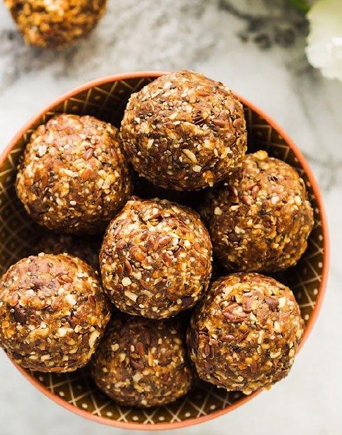 Healthy Almond Butter Balls