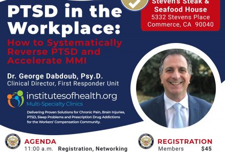 July 27th Lunch & Learn: PTSD In The Workplace