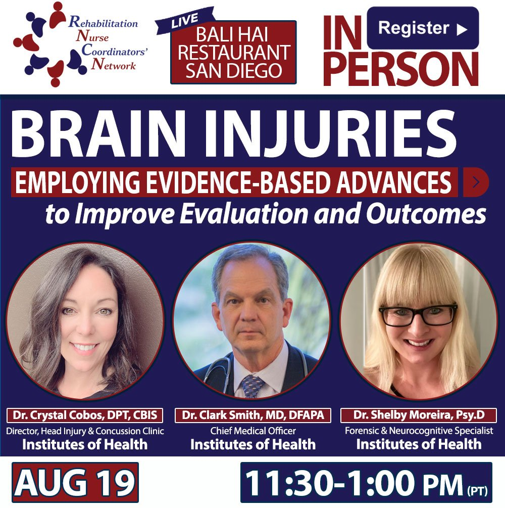 Aug 19th In Person Presentation: Brain Injuries