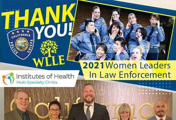 Thank You California Police Chiefs Association
